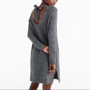 J. Crew Gray Sweater Dress